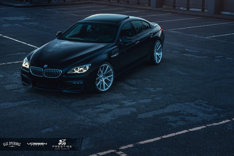BMW 6-Series Gran Coupe with Aftermarket Gets Photo Session