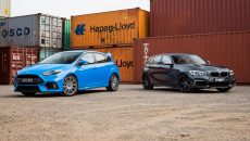 Video: BMW M140i vs Ford Focus RS