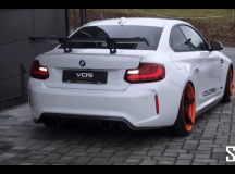 BMW M2 Coupe Sounds Pretty Loud with VOS Exhaust System