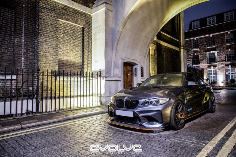 BMW M2 Coupe with GTS Livery Looks Smashing