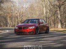 BMW M3 in Sakhir Orange by Autocouture Motoring Looks Smashing