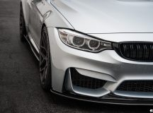 BMW M3 in Silverstone Metallic with New Styling Updated by EAS