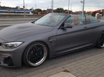 Schmidt Revolution Updates BMW M4 Convertible with Carbon Fiber Kit and New Wheels