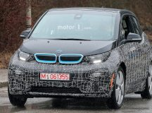 These Are the First Spy Photos with the BMW i3 Facelift