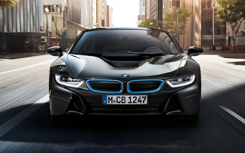 BMW i8 Protonic Frozen Black Edition Gets Impressive Photo Session ahead Geneva 2017