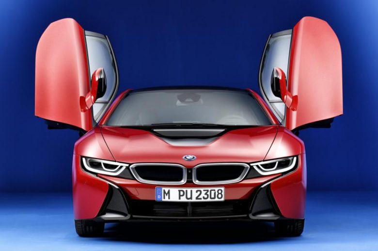 2017 Chicago Auto Show: Live Photos – BMW i8 Protonic Red Edition Kicks Off