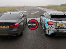 Drag Race: BMW M3 vs Mercedes-AMG A45