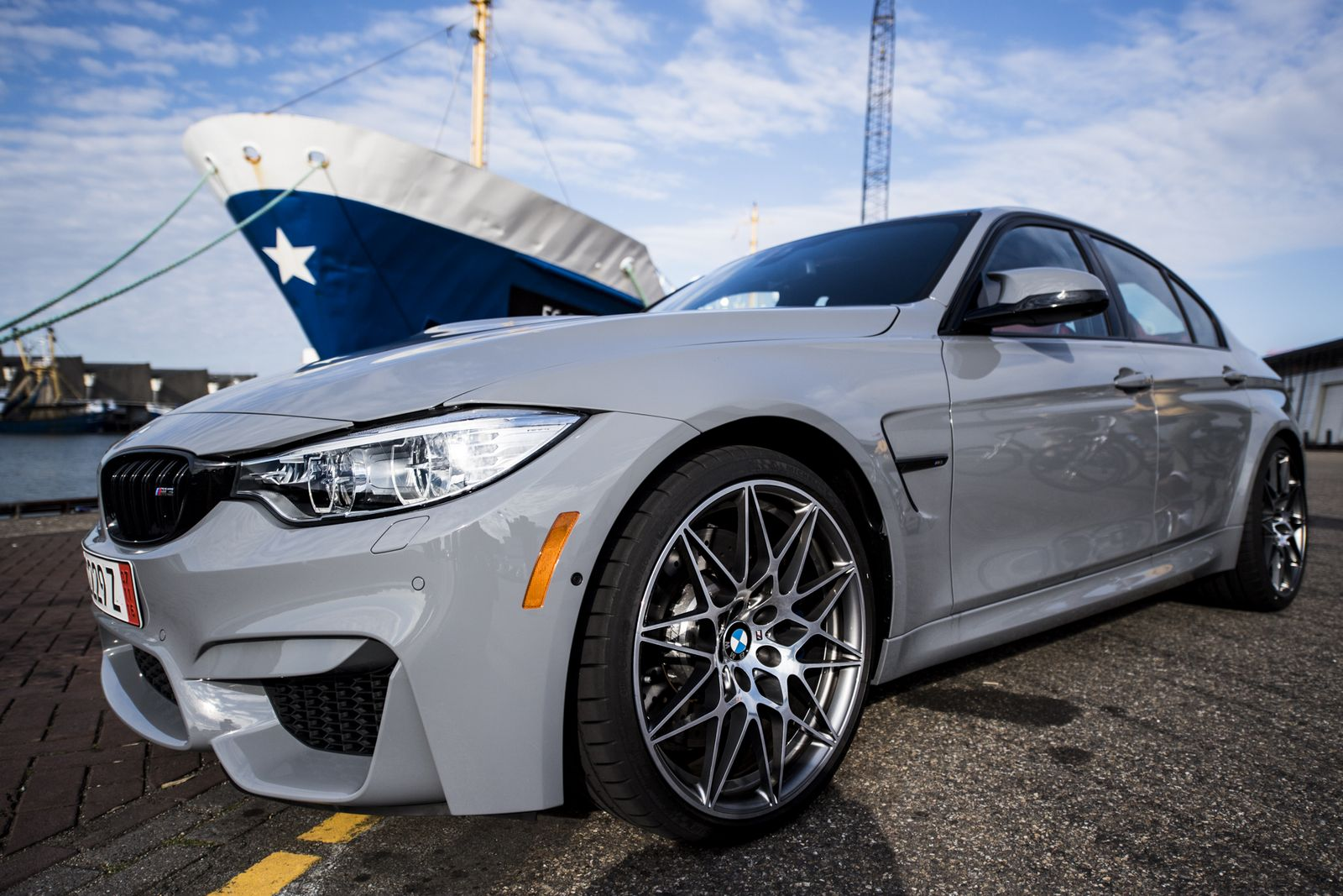 F80 Bmw M3 In Nardo Grey Looks Extremely Aggressive And Feels