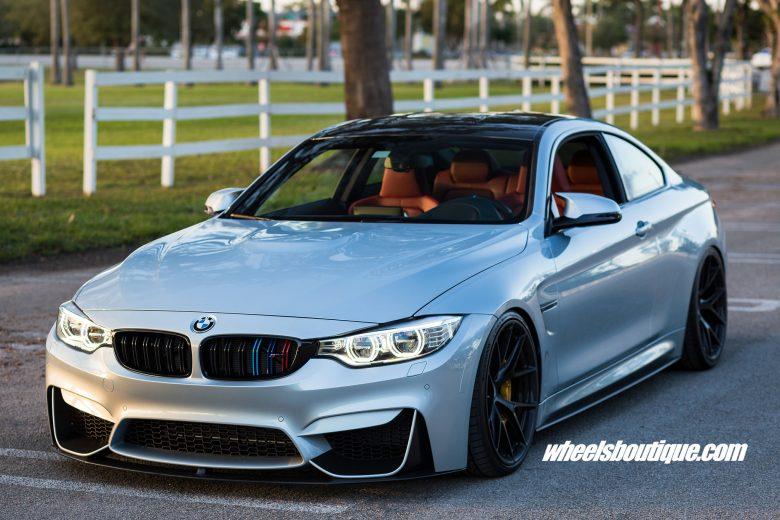F82 BMW M4 Looks Gorgeous on HRE Wheels