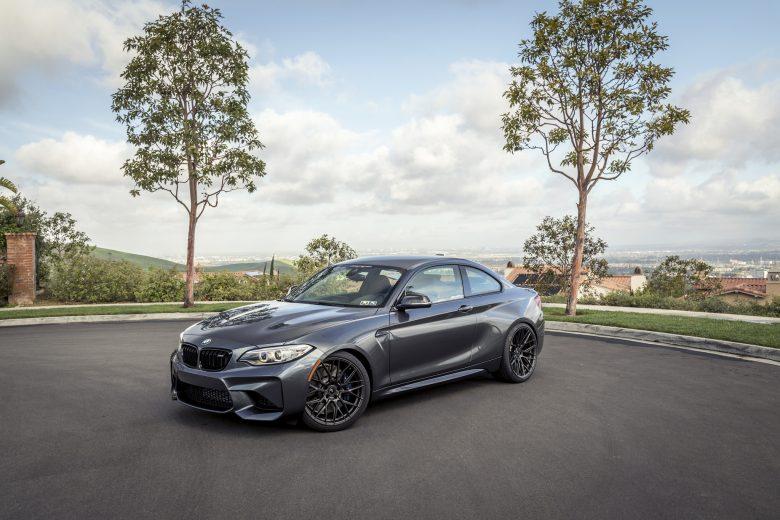 Impressive Gallery: Mineral Grey BMW M2 Coupe Sits on Vorsteiner Wheels