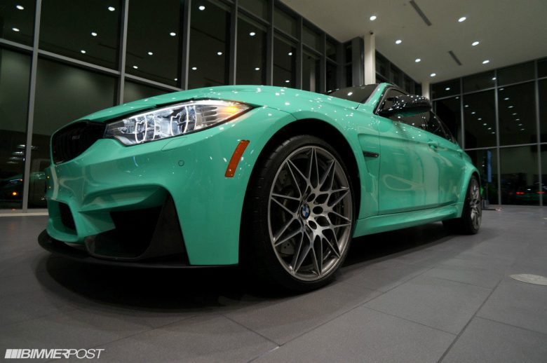 Mint Green F80 BMW M3 with M Performance Parts Is Up for Grabs in L.A.