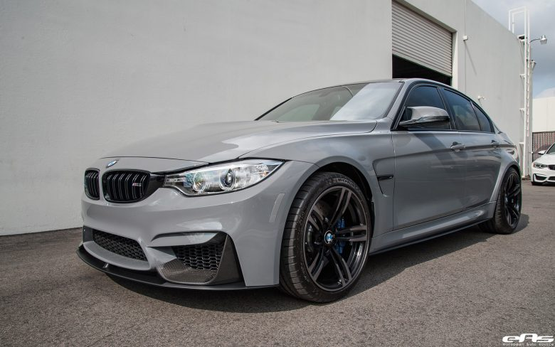 F80 BMW M3 with New Upgrades from EAS Kicks Off in Impressive Gallery