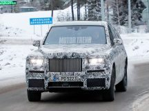 Rolls-Royce Cullinan SUV Gets Spied in Snowy Tests