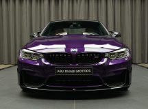 New M3 with Competition Package Arrives at BMW`s Abu Dhabi Motors