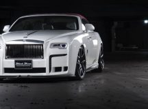 Rolls-Royce Dawn with Black Bison Kit by Wald International Is the Real Deal