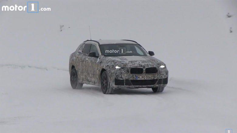 Spy Video: 2018 BMW X2 Still Undergoes Winter Tests