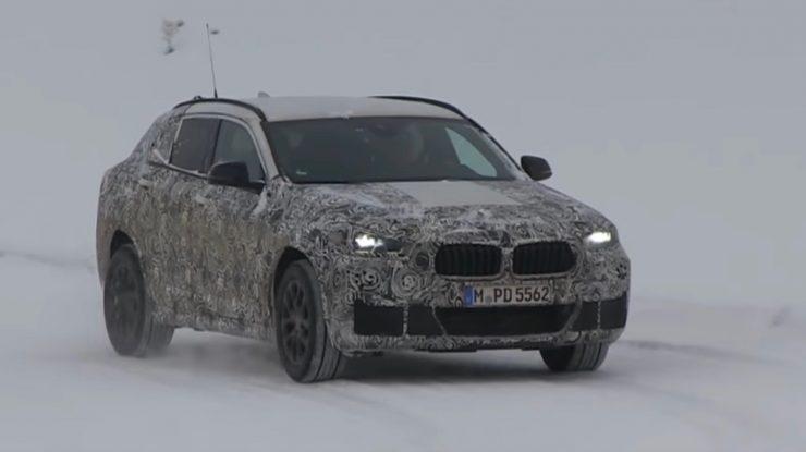 Spy Video: 2018 BMW X2 – New Tests Emerge