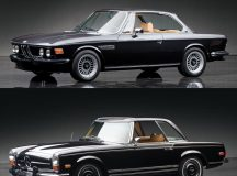 Which One Would You Choose: BMW 3.0 CS Coupe vs Mercedes-Benz 280 SL Pagoda