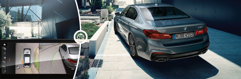 BMW 5 Series Sedan Business Assistance Systems Parking Assistant