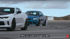Video – MotorTrend Puts Head-to-Head BMW M2 Coupe vs. Chevy Camaro 1LE