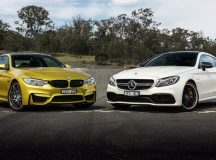 Video Brings Together BMW M4 Competition Package vs. Mercedes-AMG C63 S Coupe