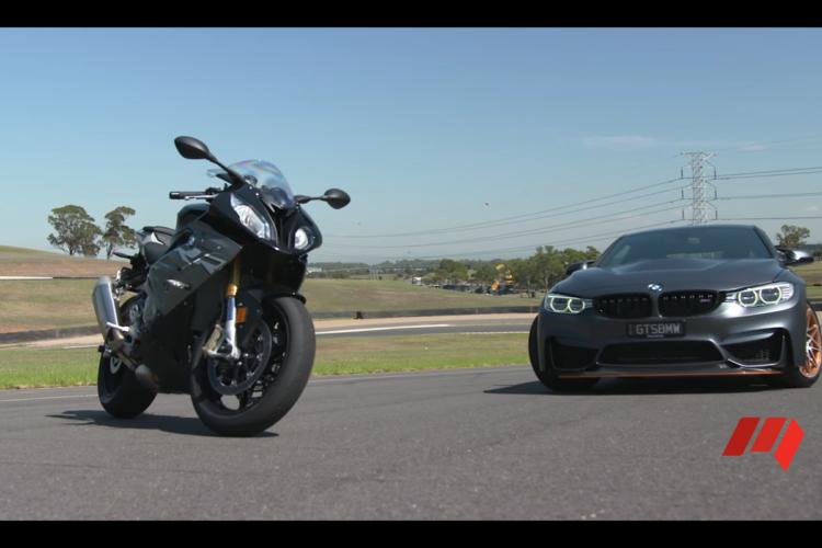 Track Test: BMW M4 GTS vs BMW S1000RR