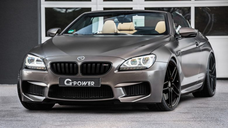 Video: BMW M6 Convertible with Competition Package Upgraded by G-Power