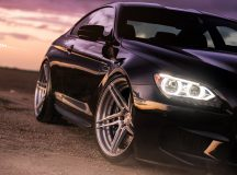 BMW M6 in Black Sapphire Sits on ADV.1 Wheels