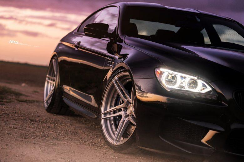 BMW M6 in Black Sapphire Sits on ADV.1 Wheels