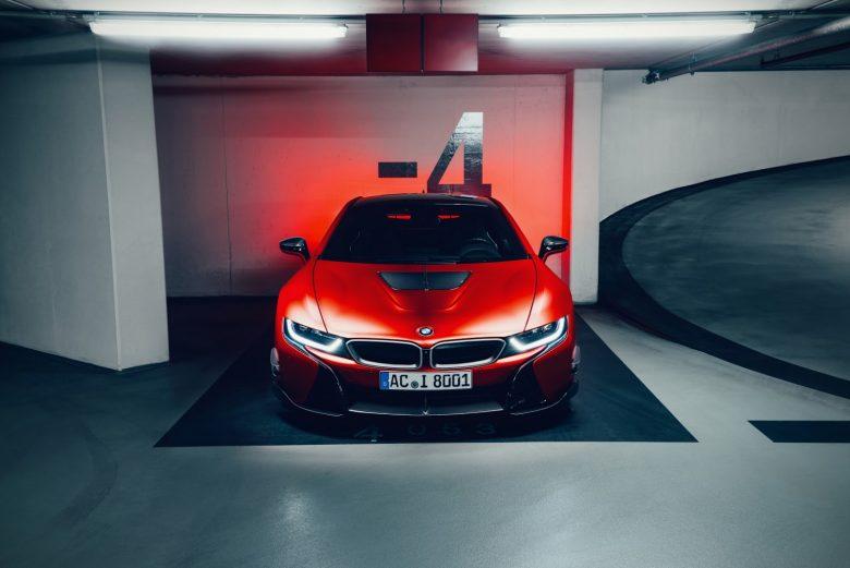 BMW i8 with Carbon Aerodynamic Accessories by AC Schnitzer
