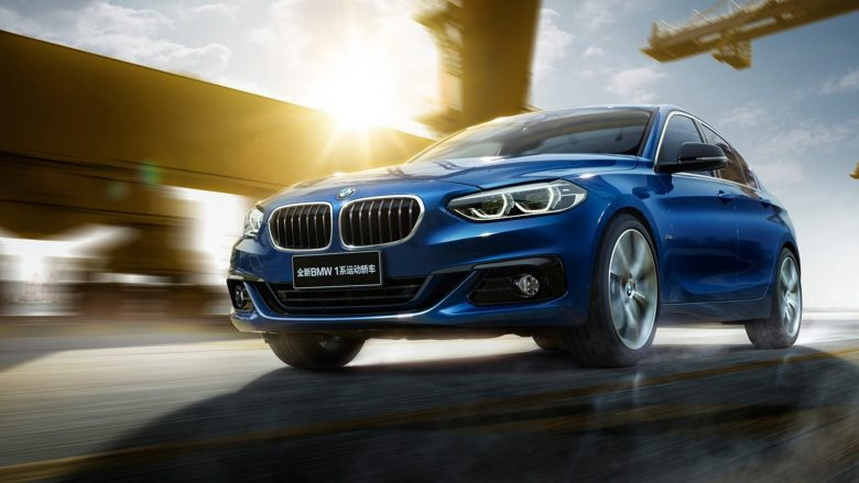 China-Only BMW 1-Series Sedan Pops-Up in New Commercial and Media Gallery