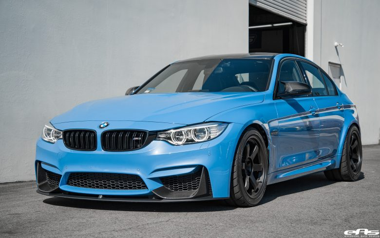 F80 BMW M3 Yas Marina with M Performance Parts, Installation by EAS