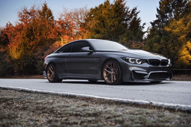 F82 BMW M4 on HRE Wheels, Features Akrapovic Exhaust for Wilder Growl