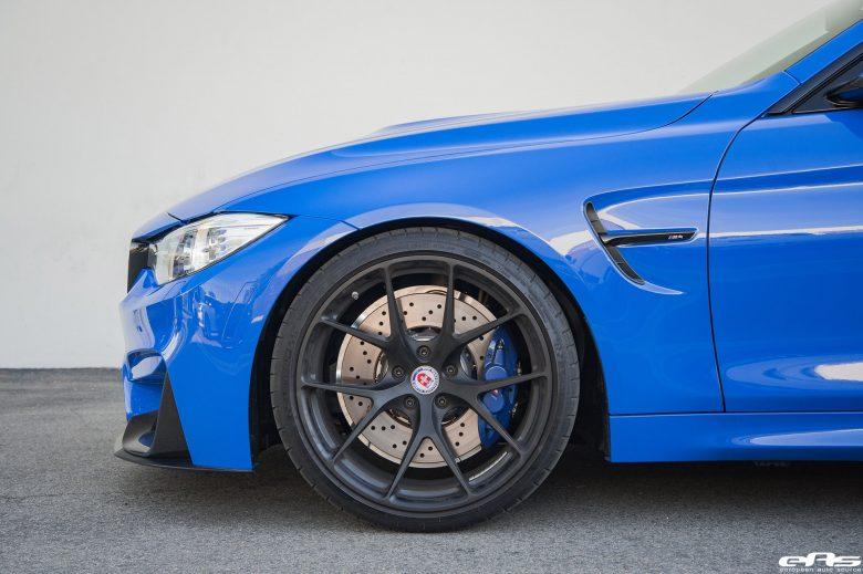 EAS Equips F82 BMW M4 with M Goodies and HRE Wheels