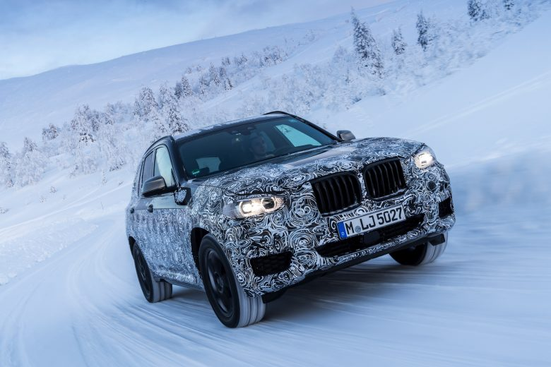 G01 BMW X3 Spied in Official Shots