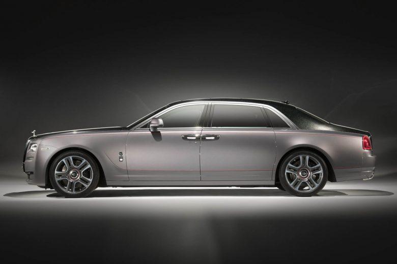 Rolls Royce Ghost Elegance Shines ahead the 2017 Geneva Motor Show