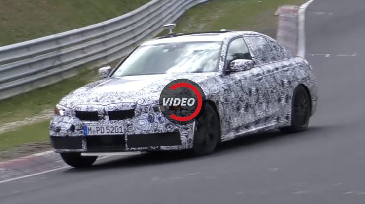 Spy Video: 2019 BMW M340i Plays on the Ring