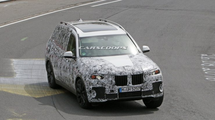 2019 BMW X7 Gets Spied on the Ring