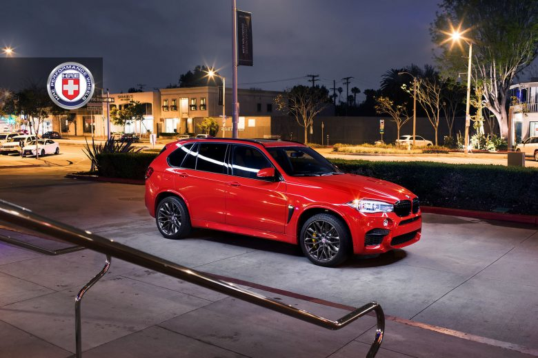 BMW X5 M Sits on HRE Wheels, Looks Better than Photoshopped
