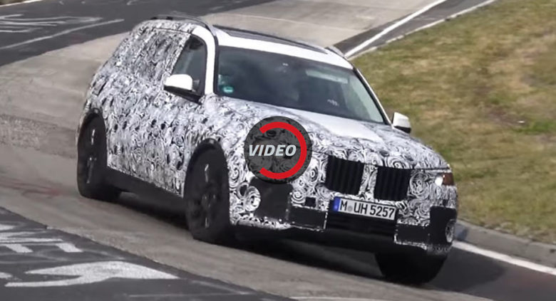 New Spy Video: BMW X7 Flexes Its Muscles on the Ring
