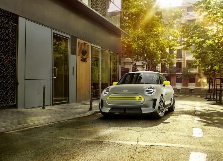 This Is the Upcoming MINI Electric Concept Heading to Frankfurt Motor Show This September