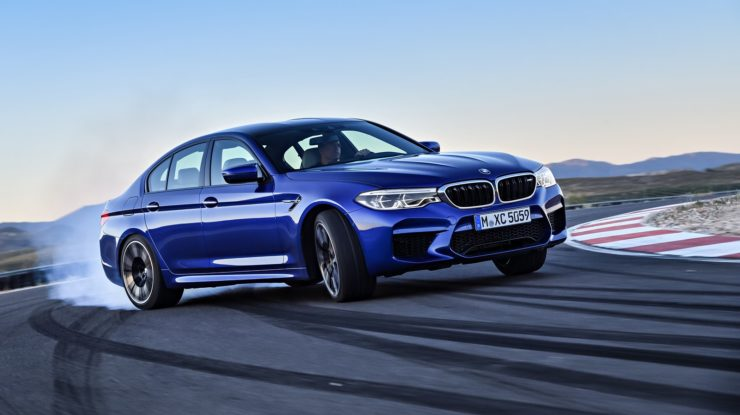BMW Says 2018 M5 Competition Packaged Is Just Around the Corner