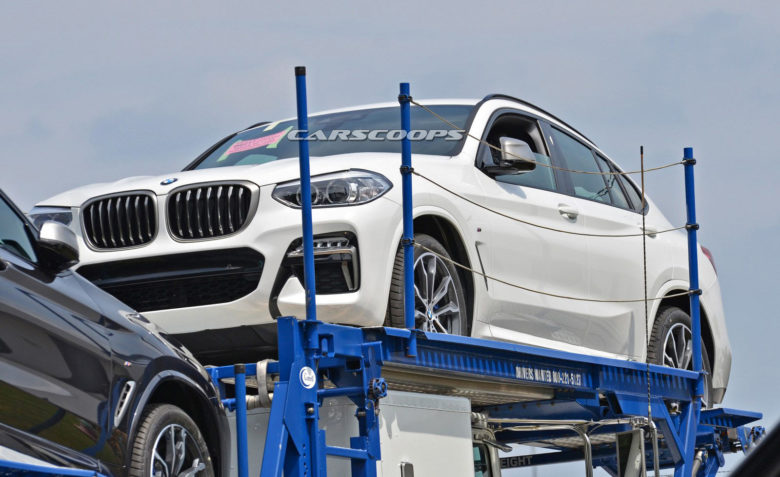 2019 BMW X4 Spied near Spartanburg, North Carolina