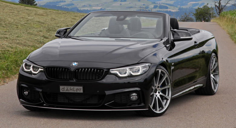 This Is Dahler`s Darth Vader-Like BMW 440i, with Carbon Fiber Aero Kit & Power Boost