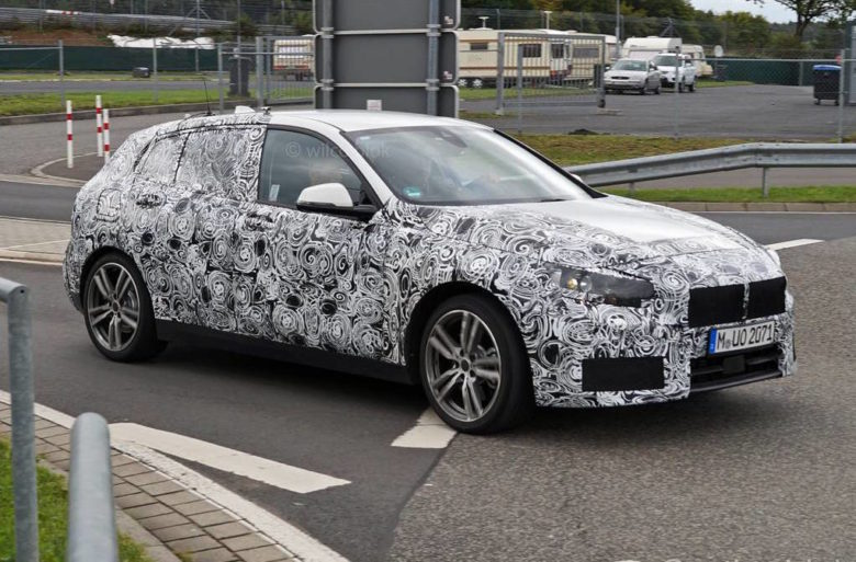 Spy Shots Reveal Upcoming 2019 BMW 1-Series in New Tests near Nurburgring