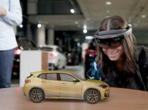 BMW X2 Hologram Presentation Courtesy of Microsoft