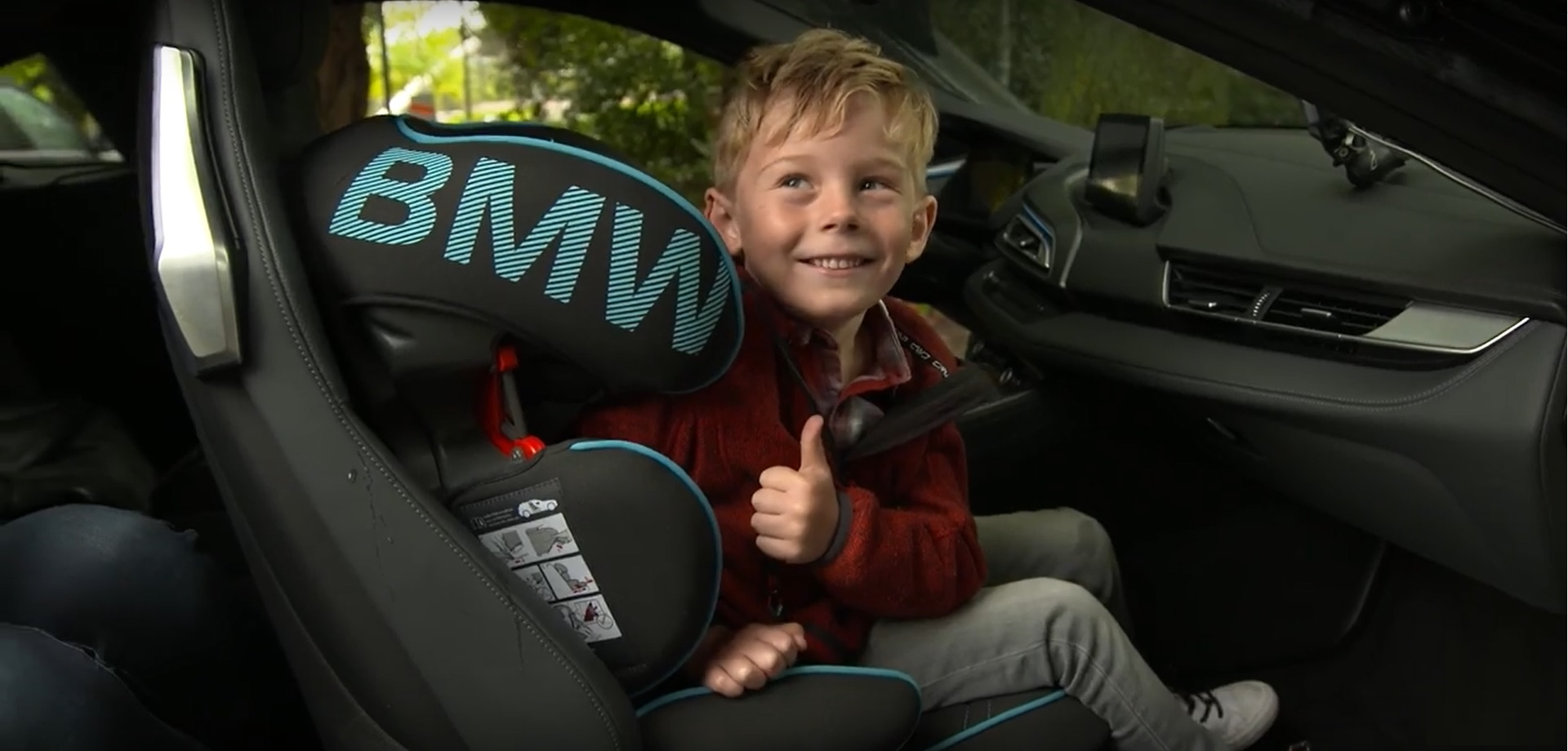 5-Year-Old Fan Gets a Big Surprise from BMW
