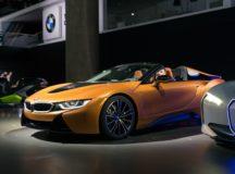 BMW i8 Roadster Presented at LA Auto Show