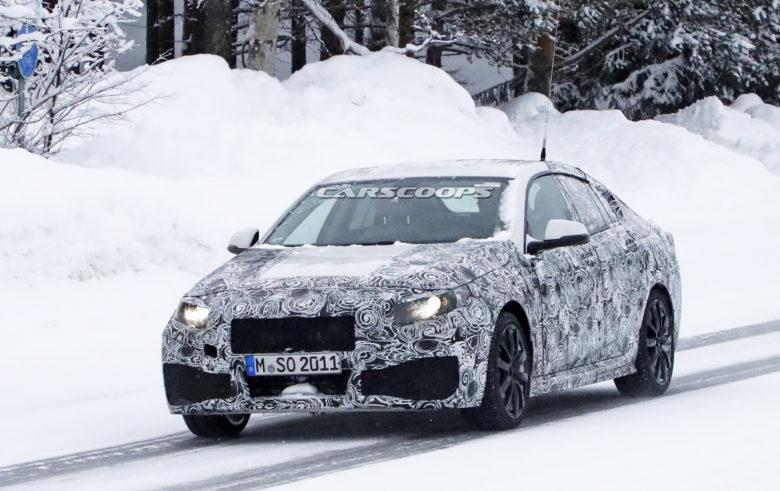 Spy Shots: 2020 BMW 2-Series Gran Coupe Undergoes Extreme Snow Testing