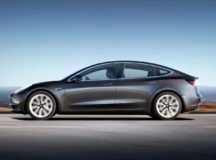 BMW Pro Driver tries Tesla Model 3 and Compares it to an M3